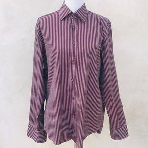 Boss by Hugo Boss Striped Dress Shirt EUC